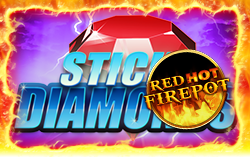 Sticky Diamonds Red Hot Firepot - Slots legal im Onlinecasino spielen OnlineCasino Deutschland