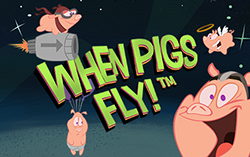 When Pigs fly,
